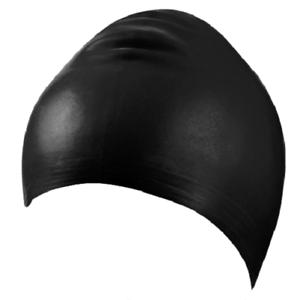 Beco Adult Latex Swim Caps - Black - Bargain Multi Buy Pack 6