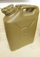 Scepter Mfc 20l/5gal Field Drab Military Gas Petrol Can Offroad W Cap Strap