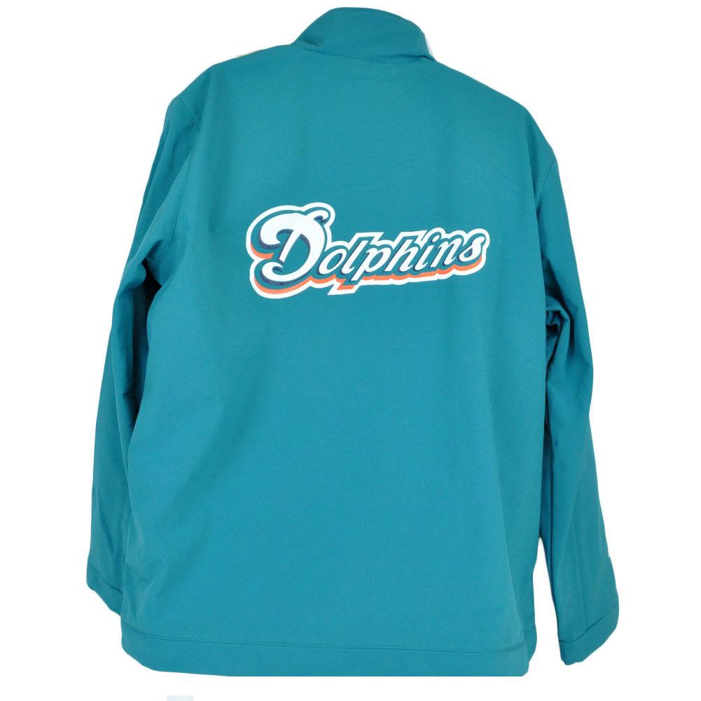 NFL Miami Dolphins Football Veste Chandail de Survêtement Hiver Polaire Chandail Veste Zipper f8c2ae