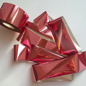 PEACH-MIRROR-Effect-Nail-Art-Foil-Decoration-Wrap-Transfer
