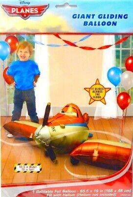 "65/"" Disney Pixar Planes Giant Air Walker Gliding Foil  Birthday  Balloon FREE SH"