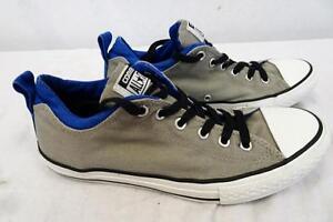 CONVERSE 642906f ALL STAR vita bassa doppia colletto grigio UK 4.5 / Eur 37.5