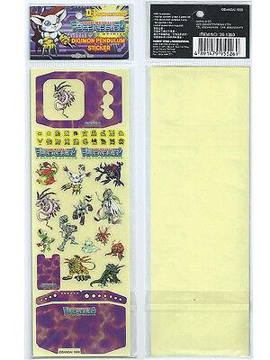 Bandai Digimon Pendulum 1.5 Digivice Nature Spirits D-1 Grand Prix Sticker Set B