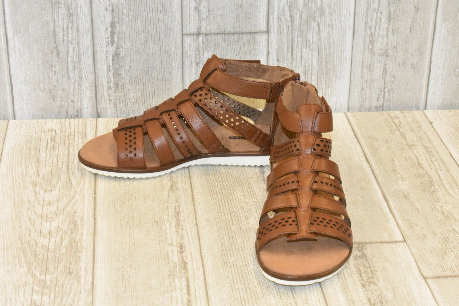 Clarks Kele Lotus Sandals - Women's Size 6.5M, Tan Leather