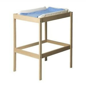 BABY-CHANGING-UNIT-WOODEN-TABLE-STATION-CHANGER-BED-AND-WITH-WITHOUT-MAT-NEW