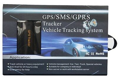 RT GLOBAL GPS/SMS/GPRS GPS TRACKER GPS103B CAR VEHICLE TRACKING SYSTEM W/ REMOTE