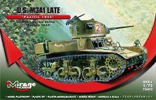 M3a1 in ritardo U.S. light tank-Pacific Theater marcature (Miele/Stuart) 1/72 Mirage