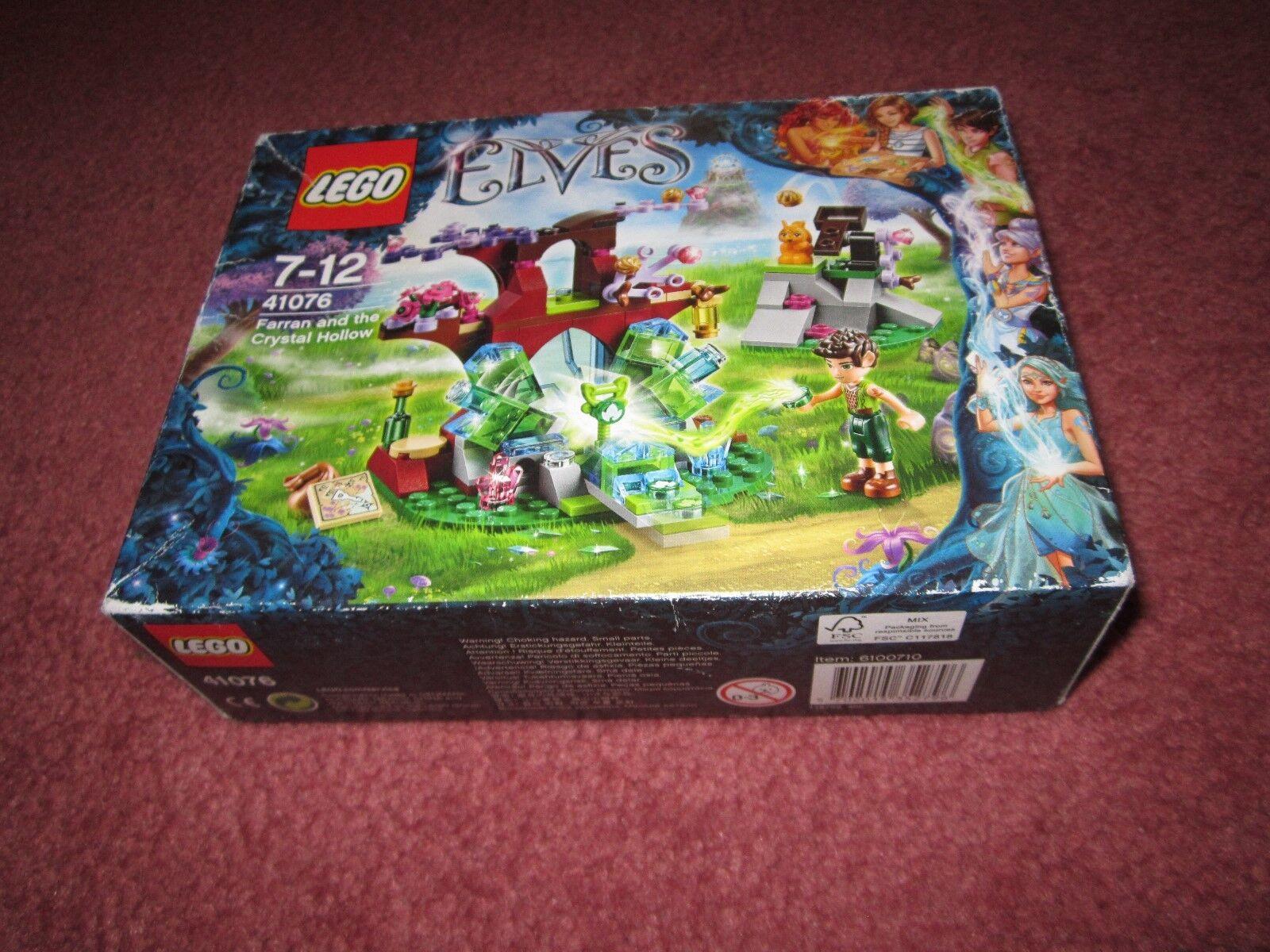 LEGO Elfi  Farran e il cristtuttio Hollow 41076 vedi foto-NUOVI SIGILLATI  buon prezzo