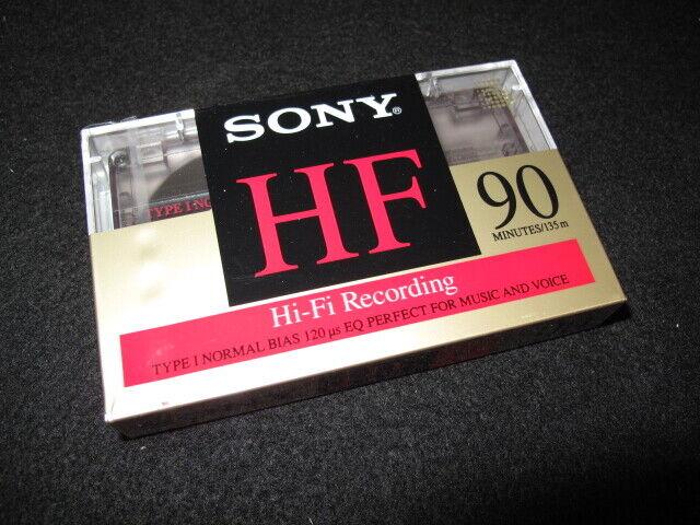 Sony HF 90 Cassette New Sealed