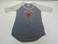 Majestic Women's Shirt Boston Red Sox Mom In Blue - Medium - R$32.00