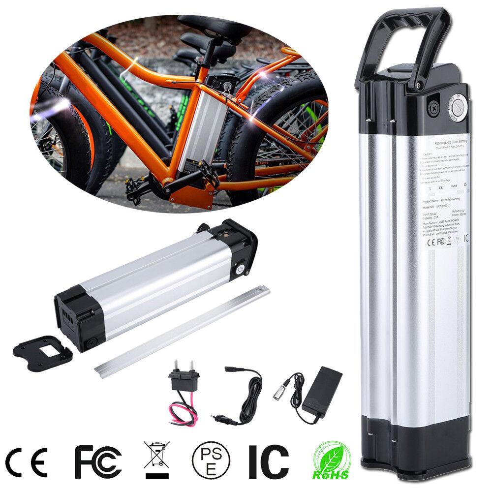 Rahmenakku Lithium-Ionen 24 Volt, 15 Ah (360 Wh) für E-Bike Elektrofahrrad