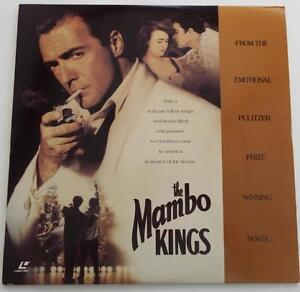 THE-MAMBO-KINGS-Banderas-LASERDISC-WIDESCREEN-EXTENDED-PLAY-DOLBY-SURROUND