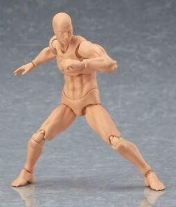 S-H-6-039-039-Figure-Art-Figma-CHAN-amp-KUN-Movable-PVC-Male-Female-Figure-Body-Model-Toy