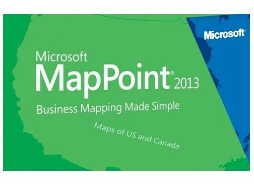 Microsoft MapPoint North America Buy It Now