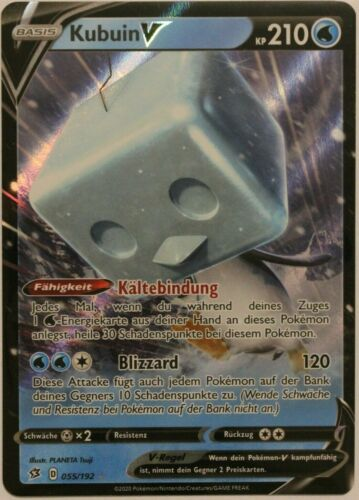 Pokemon Card kubuin-V 055//192
