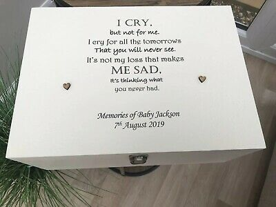 Personalised In Memory Of Box Loved One ~ GRANDAD ~ any Name Bereavement Loss