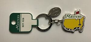 2019-Masters-keychain-chrome-map-logo-yellow-new-augusta-national