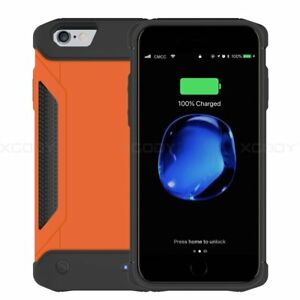 Outdoor-Battery-External-Power-bank-Charger-Case-Cover-For-iPhone-6-6s-7-8-Plus