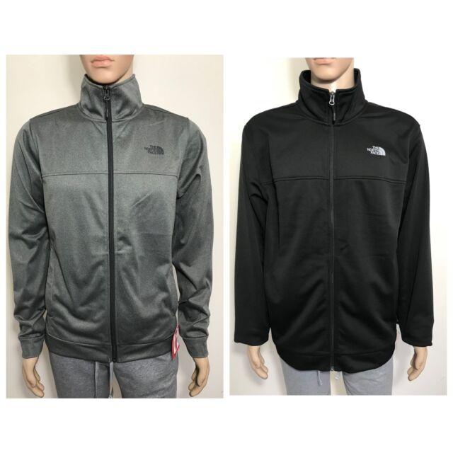 eca20fcc1 The North Face Men's 100 Cinder Full Zip Up Jacket TNF Black Grey S M L XL  XXL