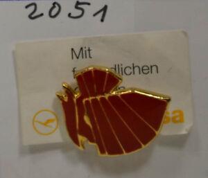 Lufthansa an2051 Mit Freundlichen Grüßen Pin Badge 1,5 X 1,5 Cm