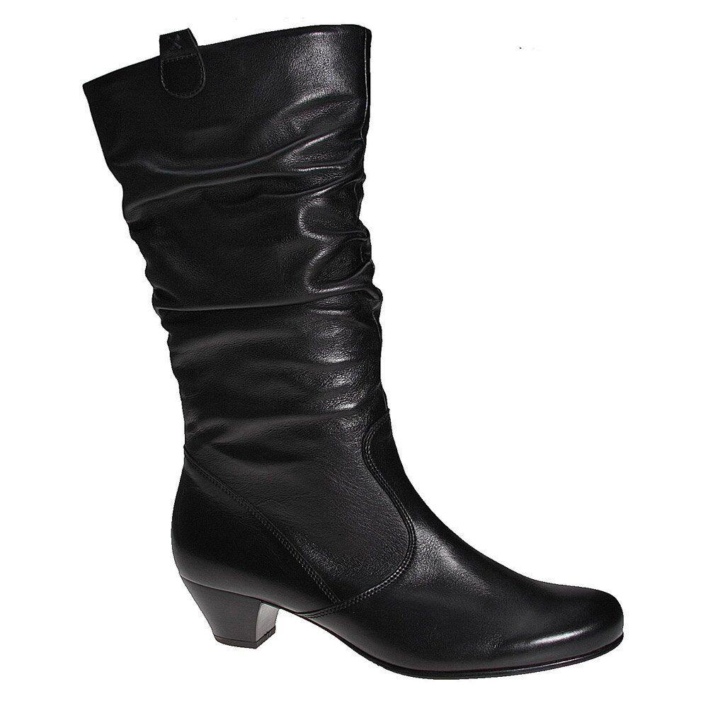 GABOR GABOR GABOR Rachel Cuero Caña Ancha botas  tienda en linea