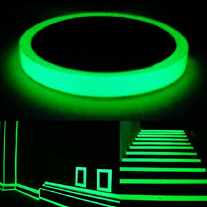Luminous Glow In The Dark Tape Safety Self-adhesive Stage Home Decor Decals