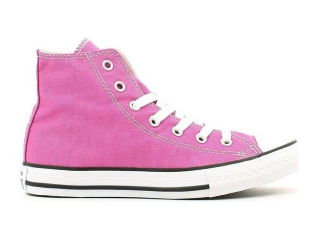 015beed594 Converse All Star Hi Canvas Plastic Pink Junior bimba 35 | Acquisti ...