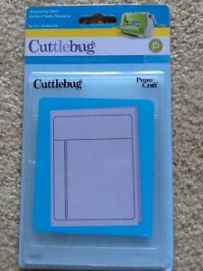 Provo Craft Cuttlebug A2 Embossing Folder Journaling Card