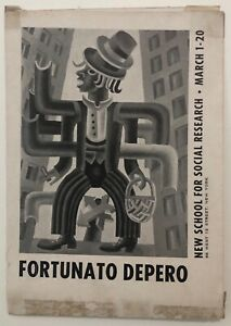 Fortunato-Depero-New-School-For-Social-Research-March-1-20-1948-catalogo-mostra