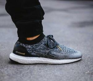Details about Adidas Ultra Boost Uncaged Black White BB3900 brand new running rare