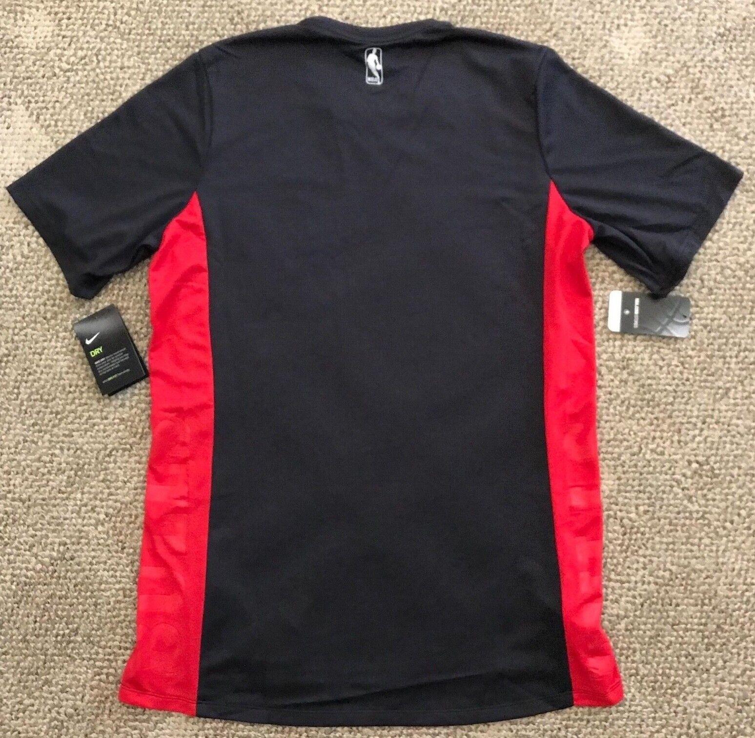 58e90d7c18ff XXL 2xl Nike Dry Mens Short Sleeve Basketball Shirt NBA Chicago Bulls  918149 for sale online