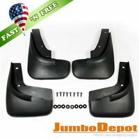Us 4pcs Blk Abs Splash Guards Mud Flaps Fender For Vw Jetta Bora Sedan Mk4 99-04