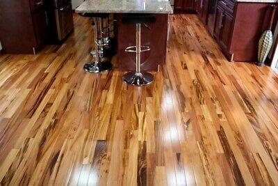5 1 4 Triangulo Brazilian Tigerwood Koa Engineered Hardwood Flooring Sample Ebay