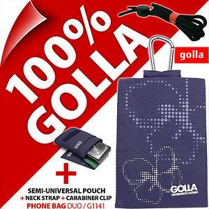 Golla-Viola-Telefono-Custodia-Cover-pouch-sacchetto-per-Apple-iPhone-3-G-3GS-4-4-S-5-5-S-5-C-se
