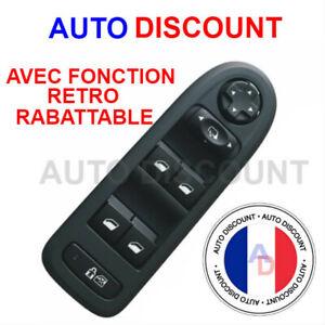 interrupteur-commande-bouton-leve-vitre-PEUGEOT-308-508-CITROEN-C5
