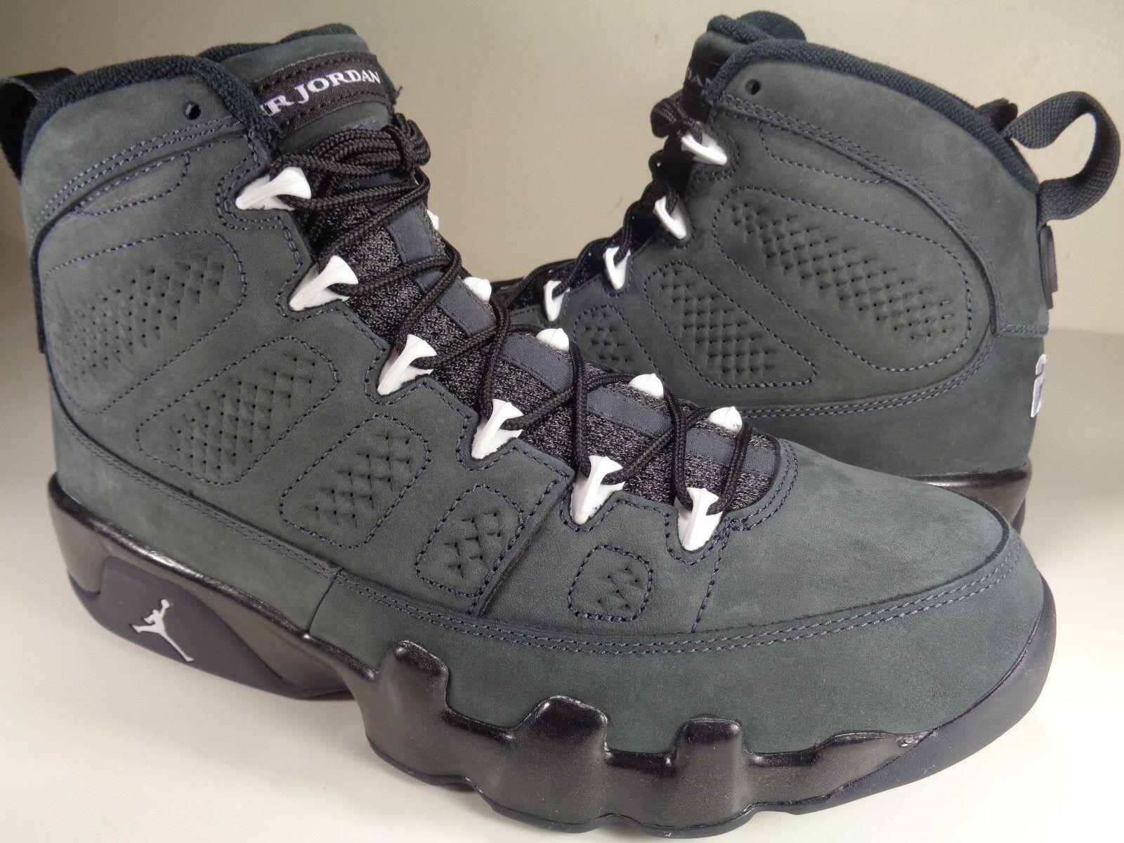 Jordan Air 9 IX Retro Nike Air Jordan Antracita Blanco Negro (302370013) e95b33