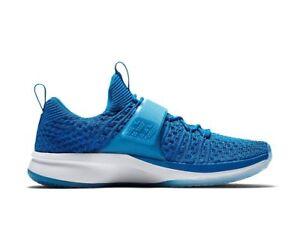 Mens Nike Air Jordan Trainer 2 Flyknit Basketball Shoes Blue 921210 ... c745767c4