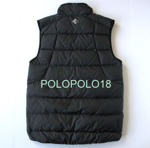 New $198 Ralph Lauren RLX Down Puffer Quilt Vest Jacket Polo S M L XL 2XL
