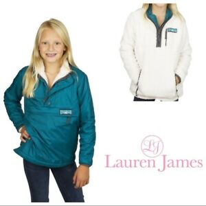 18b7a713d0e0 Image is loading NWT-84-Lauren-James-Youth-Holden-reversible-jacket-