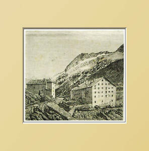 AOSTA:Gran San Bernardo-Monte Morto.In Passepartout1889