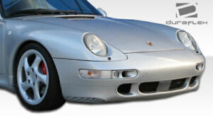 Porsche-1995-98-993-Duraflex-Turbo-S-Look-Front-Bumper-NEW-1pc-Body-Kit-105103