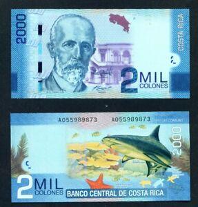 COSTA-RICA-2013-2000-Colones-UNC-Banknote