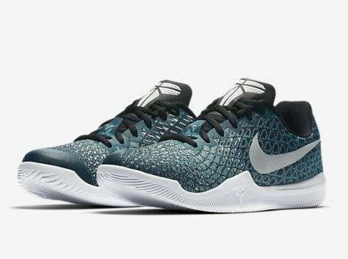 Nike hombre Kobe Mamba instinto Turbo Verde / blanco negro / negro blanco / Igloo tamaño 10,5 a estrenar 899e4a