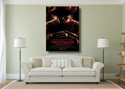 A Nightmare On Elm Street Movie Poster A4 A3 Freddy Krueger Poster Prints