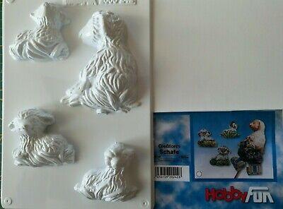 Modellierung Gießform Schafe