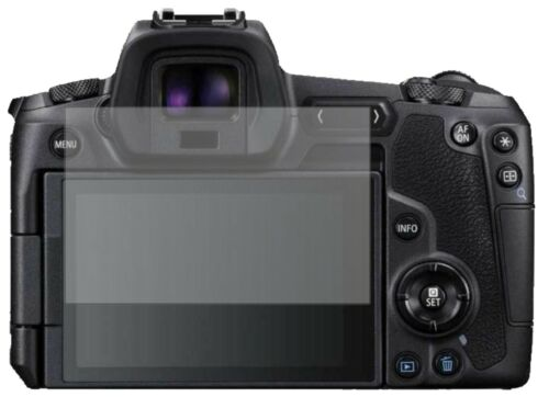 2x Canon EOS R lámina protectora mate protector de pantalla Lámina display protección dipos