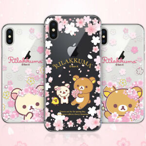 Details About Genuine Rilakkuma Cherry Blossom Case Iphone X Xs Xs Max Xr Case 5 Types Case