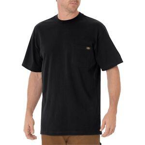 Dickies WS450 Short Sleeve Heavyweight T-Shirt W/Pocket, Various Colors, M-5XL