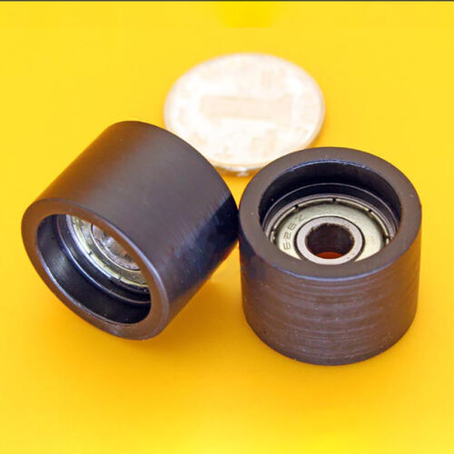M6x25x18mm  Nylon plastic Pulley Plane guide Wheel Screw Bearing Roller  626ZZ