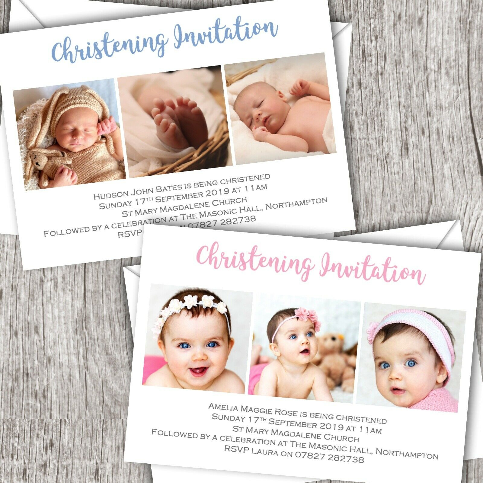 INVITI battesimo personalizzati  foto  Battesimo Battesimo Battesimo Giorno di denominazione   Boy & Girl 00465d